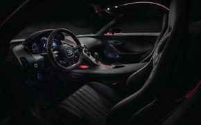 Picture Bugatti, salon, 2018, Sport, Chiron