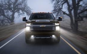 Picture fog, Chevrolet, pickup, Silverado, High Country, 2020, 2500 Heavy Duty
