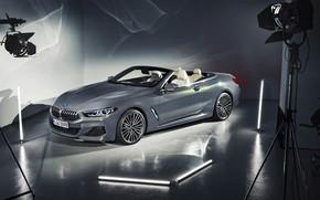 Wallpaper BMW, convertible, 2018, Cabrio, xDrive, 8-Series, M850i