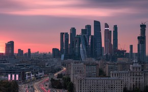 Picture the city, Moscow, Panoramic view
