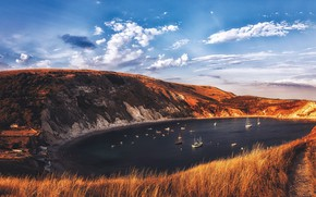 Picture England, West Lulworth, Jurassic Coast, Purbeck District, Lulworth Cove