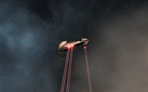 Picture space, eve online, battleship