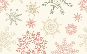 Picture snowflakes, background, texture, pattern, snowflakes