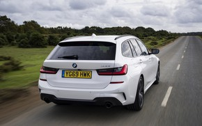 Picture BMW, 3-series, universal, feed, 3P, 2020, UK version, G21, 330i Touring