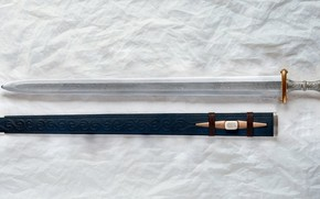 Picture Sword, Sheath, Meroving, The Anglo-Saxons, Fetter-Lane, Patrick Bart