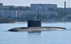 Picture submarine, submarine, diesel, Sevastopol, the project 636.3