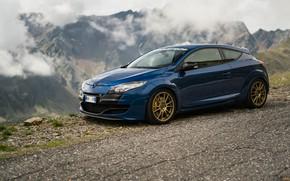 Picture Renault, Blue, Megane, Extreme