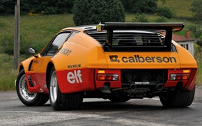 Picture Renault, rear view, 1982, A310, V6, Alpine-Renault