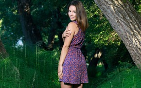 Picture leaves, tree, dress, Emmy
