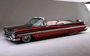 Picture Old, Impala, Lowrider, Convertible, Custom, 1959 Year