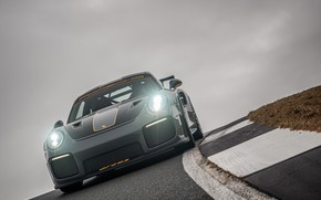 Picture overcast, lights, 911, Porsche, racing track, GT2 RS, 991, Edo Competition, 2020