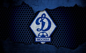 Picture wallpaper, sport, logo, football, Dynamo Moscow