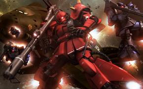 Picture space, weapons, robots, Mobile Suit Gundam