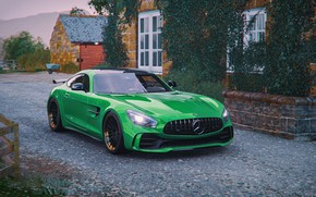 Picture Mercedes-Benz, Microsoft, game, AMG, GT R, Forza Horizon 4