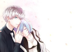 Picture anime, two, Tokyo Ghoul, Tokyo ghoul, The Kaneko Ken, Current
