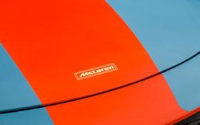 Picture McLaren, emblem, 2018, MSO, 675LT, Gulf Racing