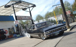 Picture the series, Dean, Supernatural, Supernatural, impala, Sam, Impala