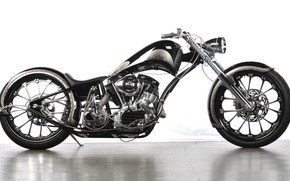 Picture Chopper, Custom, Motorbike, Motorcycle