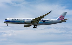Picture Airbus, China Airlines, A350-900