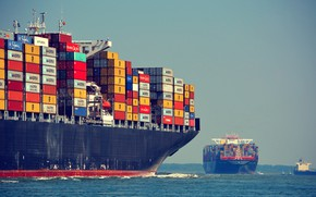 Picture Water, The ship, Maya, Two, Maersk, MSC, Maersk Line, Container ships, Vessel, M/V MSC Maya, ...