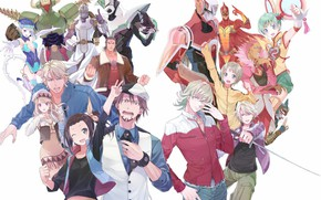 Picture anime, art, characters, tiger and bunny, Tiger and Bunny