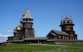 Picture Church, Russia, Kizhi, Karelia