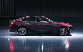 Picture Cadillac, side view, 2020, Premium Luxury, CT5