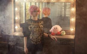 Picture girl, smoke, mirror, singer, the mirror, visual kei, Studio, soft toys, rock singer, the girl …