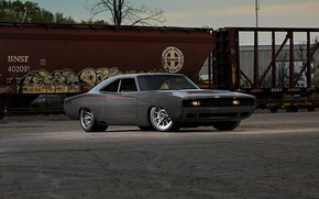 Picture Muscle, Dodge, Car, Charger, Modified