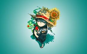 Picture flowers, Mob Psycho 100, Kageyama Shigeo, Mob psycho 100