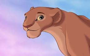 Picture figure, Leo, cartoons, lioness, The Lion King, cartoons, The Lion King, Nala, Nala