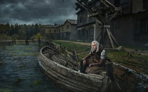 Picture boat, The Witcher, in explanation