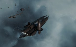 Picture space, eve online, starbase