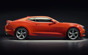 Picture Chevrolet, Camaro, side view, 2SS, 2019