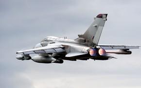 Picture The fast and the furious, Fighter-bomber, RAF, Tornado, Panavia Tornado, Panavia Tornado GR4