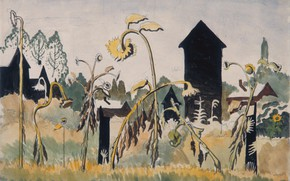 Picture 1916, Charles Ephraim Burchfield, Rogues Gallery