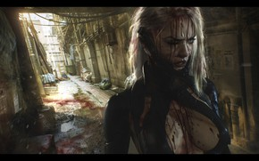 Picture Illustration, Concept Art, Science fiction, Cyberpunk, Digital 2D