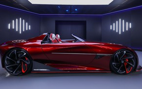 Picture Concept, concept, roadster, sports car, SAIC, Magic Eye, MG Cyberster