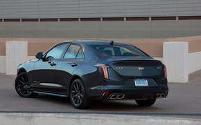 Picture Cadillac, sedan, ass, four-door, 2020, CT4-V