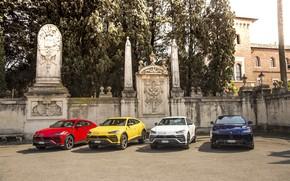 Picture Lamborghini, Italy, 2018, crossover, Urus