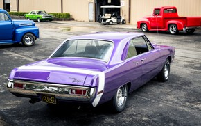 Picture Dodge, Purple, Cars, Classic, Coupe, Vehicle, Dart, Dodge Dart