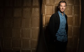 Picture look, style, background, actor, brown background, Benedict Cumberbatch, Benedict Cumberbatch, British actor