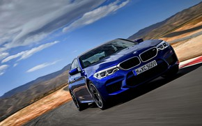 Picture asphalt, BMW, sedan, BMW M5, 2017, M5, F90