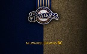 Picture wallpaper, sport, logo, baseball, Milwaukee Brewers
