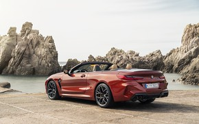 Picture shore, BMW, convertible, ass, 2019, BMW M8, M8, F91, M8 Competition Convertible, M8 Convertible