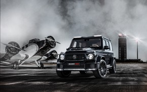 Picture The plane, Mercedes, Brabus, AMG, G63, Widestar, Brabus 800