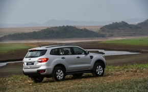 Picture field, Ford, plain, Everest, 4WD, 2015, XLS