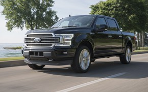 Picture Road, Ford F-150, 2019, Pickup Truck