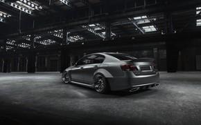 Picture Auto, Lexus, Machine, Grey, Car, Render, Silver, Lexus GS, Transport & Vehicles, by Stanislav Cheshuin, …