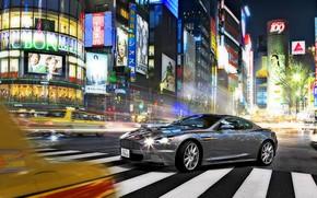 Picture Night, Tokyo, Ginza, Aston Martin DBS